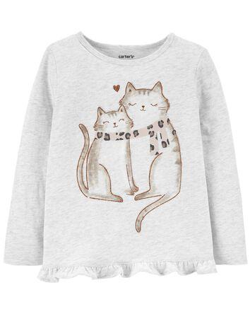 Cat Jersey Top