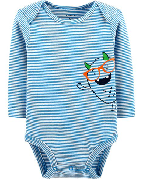 Striped Monster Collectible Bodysuit