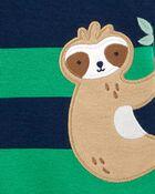 Sloth Snap-Front Romper, , hi-res