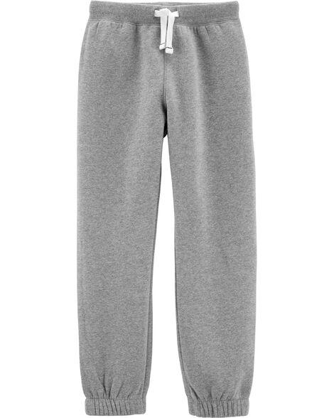 Pantalon de jogging doublé de molleton motif