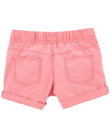 Pull-On Cotton Shorts
