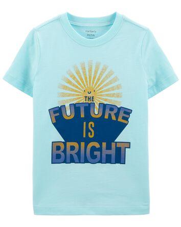 T-shirt en jersey Future is Bright