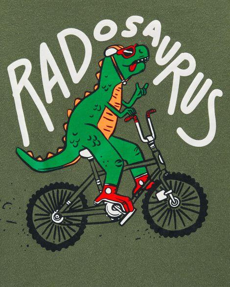 Bicycle Dinosaur Jersey Tee