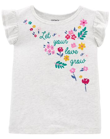 Floral Jersey Tee