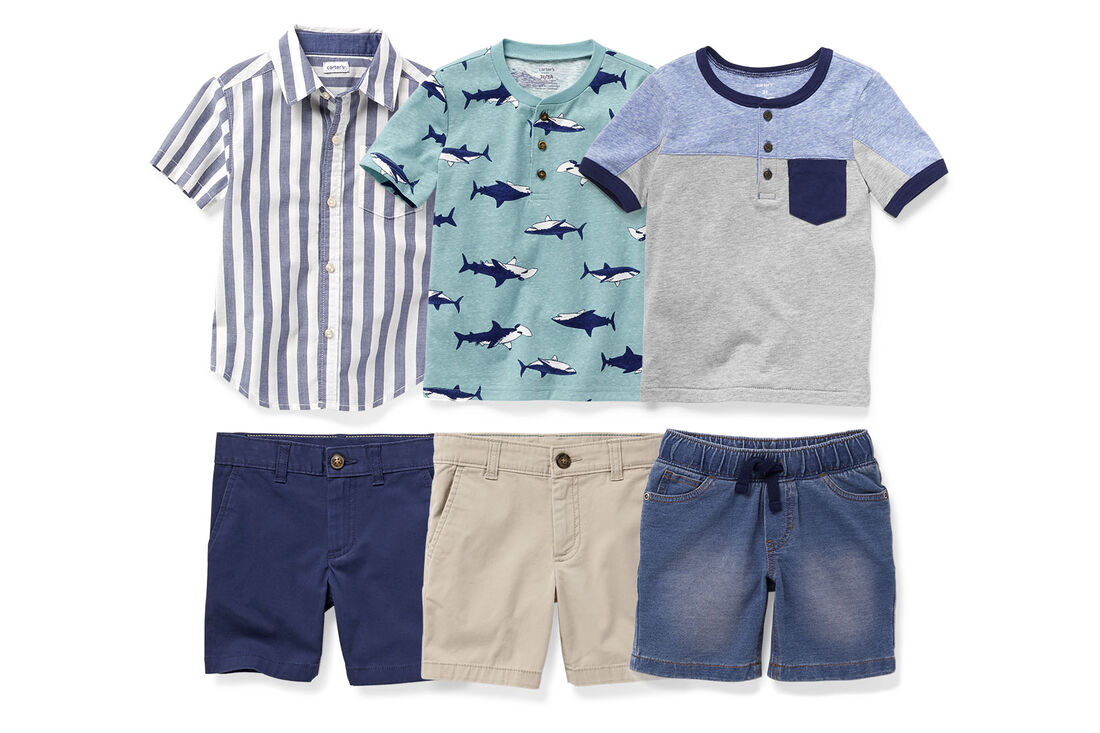 CAR_better_together_tops+shorts_boy, , hi-res