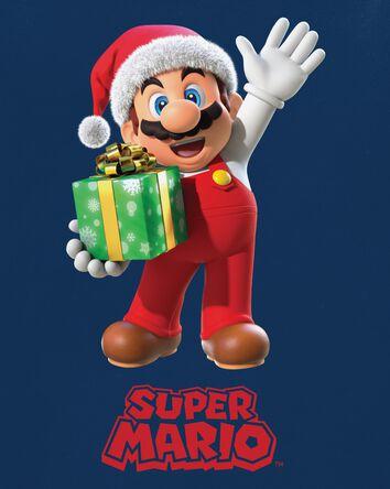 T-shirt des Fêtes Mario Bros