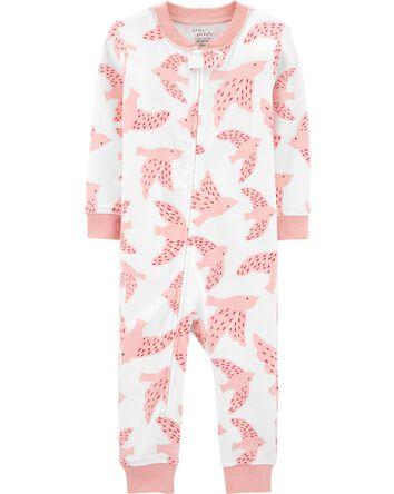 Pyjama 1 pièce ajusté sans pieds en...