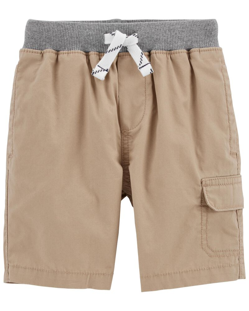 Pull-On Cargo Shorts, , hi-res