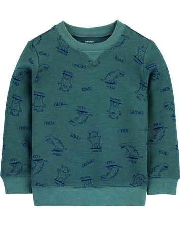 Dinosaur French Terry Pullover