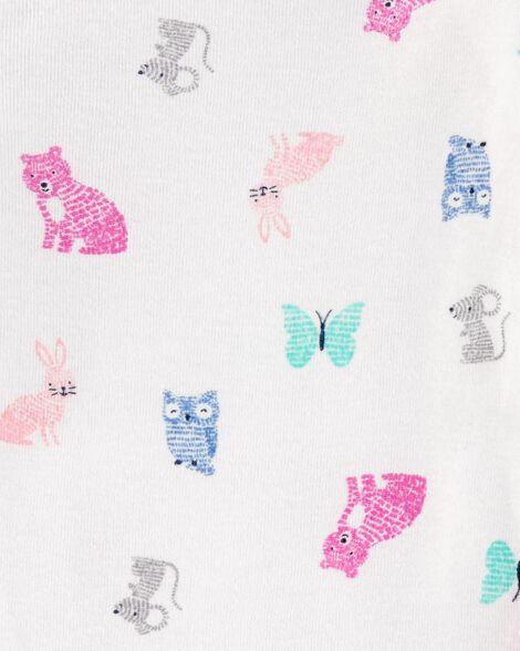 Emballage multiple 4 cache-couches originaux à motif animaux