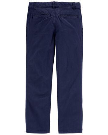 Pantalon en coutil sans plis