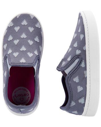 Heart Slip-On Shoes