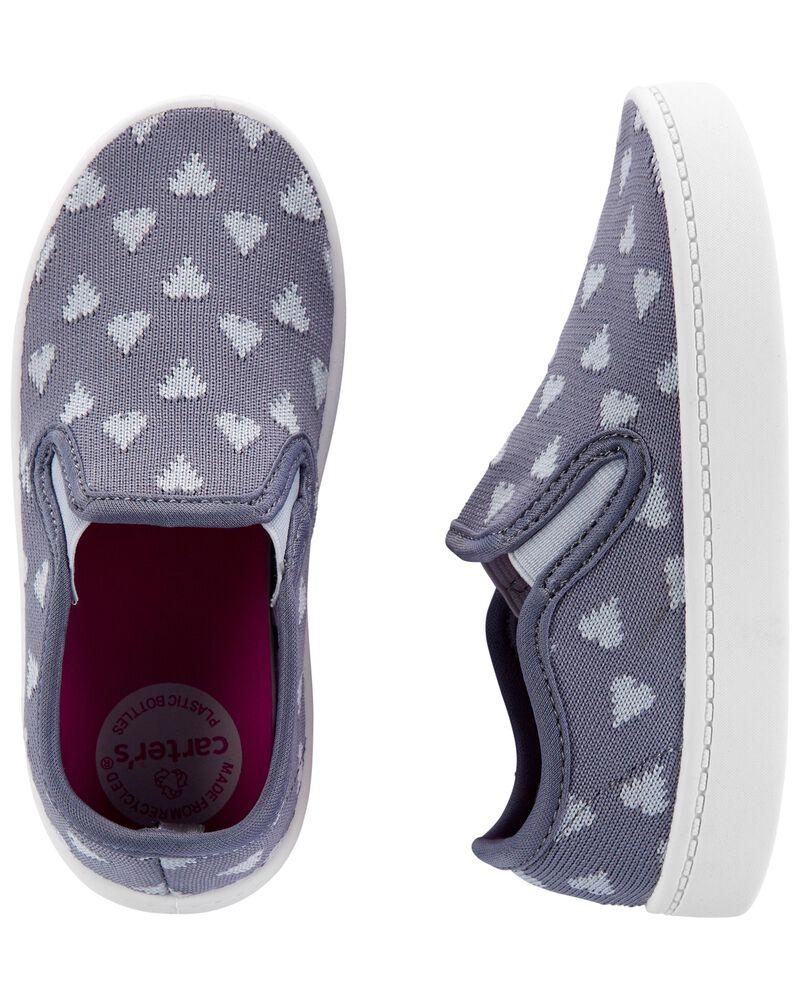 Chaussures à enfiler avec cœur, , hi-res