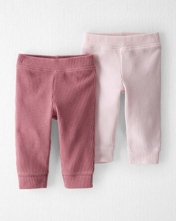 2-Pack Thermal Organic Cotton Pants
