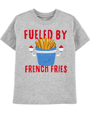Fueled By French Fries Jersey Tee