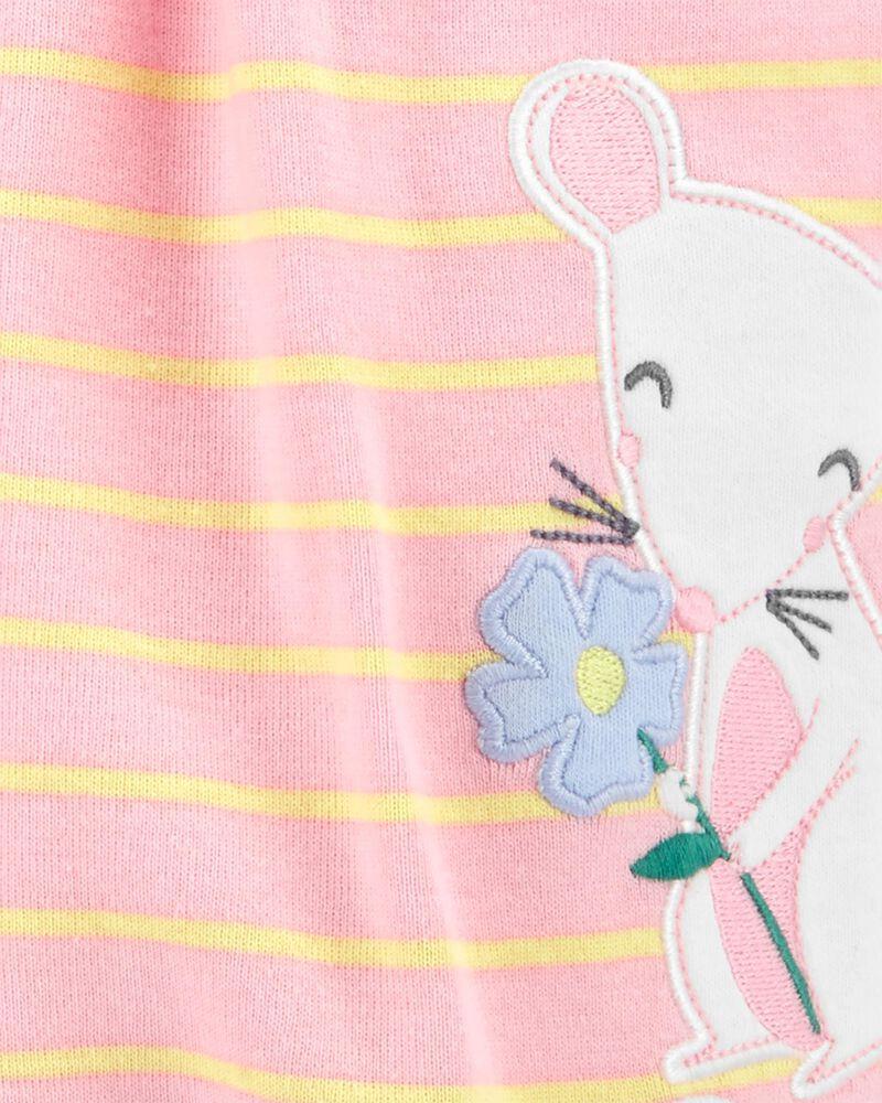 Mouse Snap-Up Romper, , hi-res