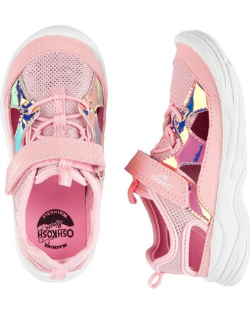 Holographic Bump Toe Athletic Sneak...