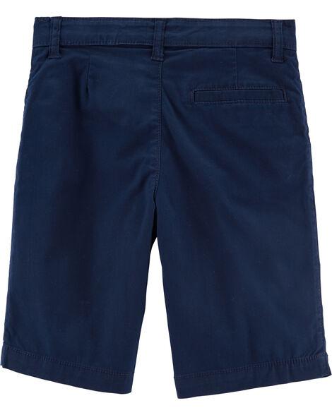 Short d'uniforme sans plis