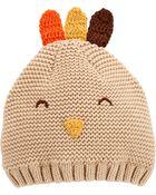 Thanksgiving Turkey Knit Cap, , hi-res