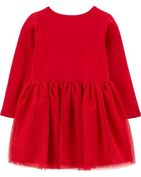 Sequin Jersey Tutu Dress