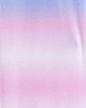 1-Piece Tie-Dye Fleece Footless PJs