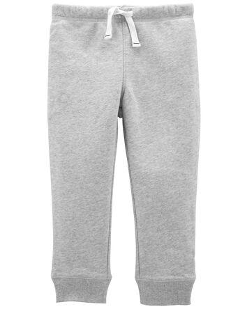 Pantalon à enfiler en molleton