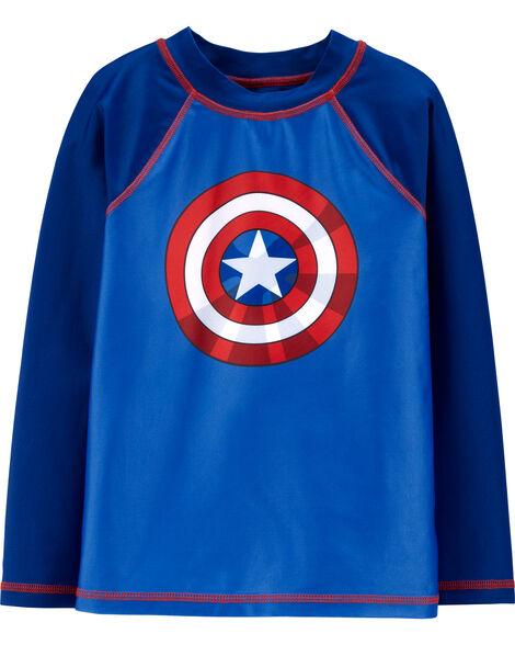Maillot dermoprotecteur Captain America