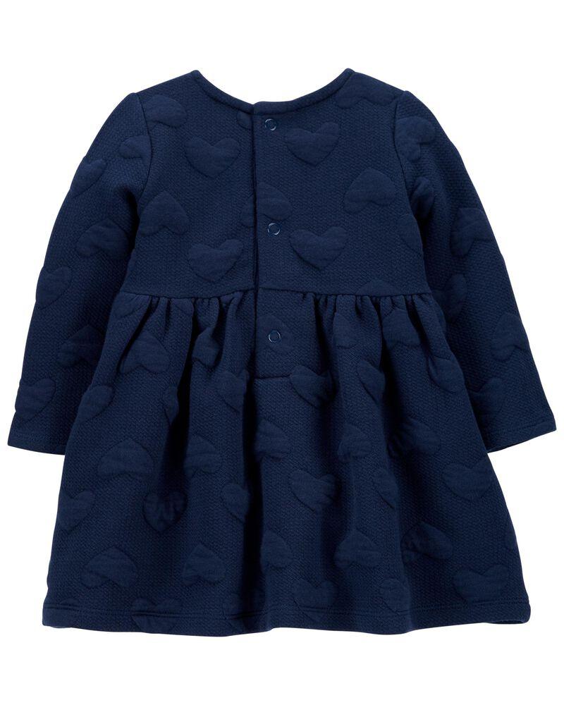 Heart Cozy Jacquard Dress, , hi-res