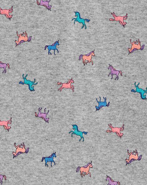 T-shirt à encolure en V à chevaux