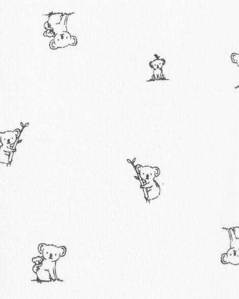Koala Snap-Up Cotton Sleep & Play