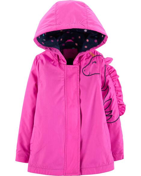 Lightweight Fleece-Lined Unicorn Jacket