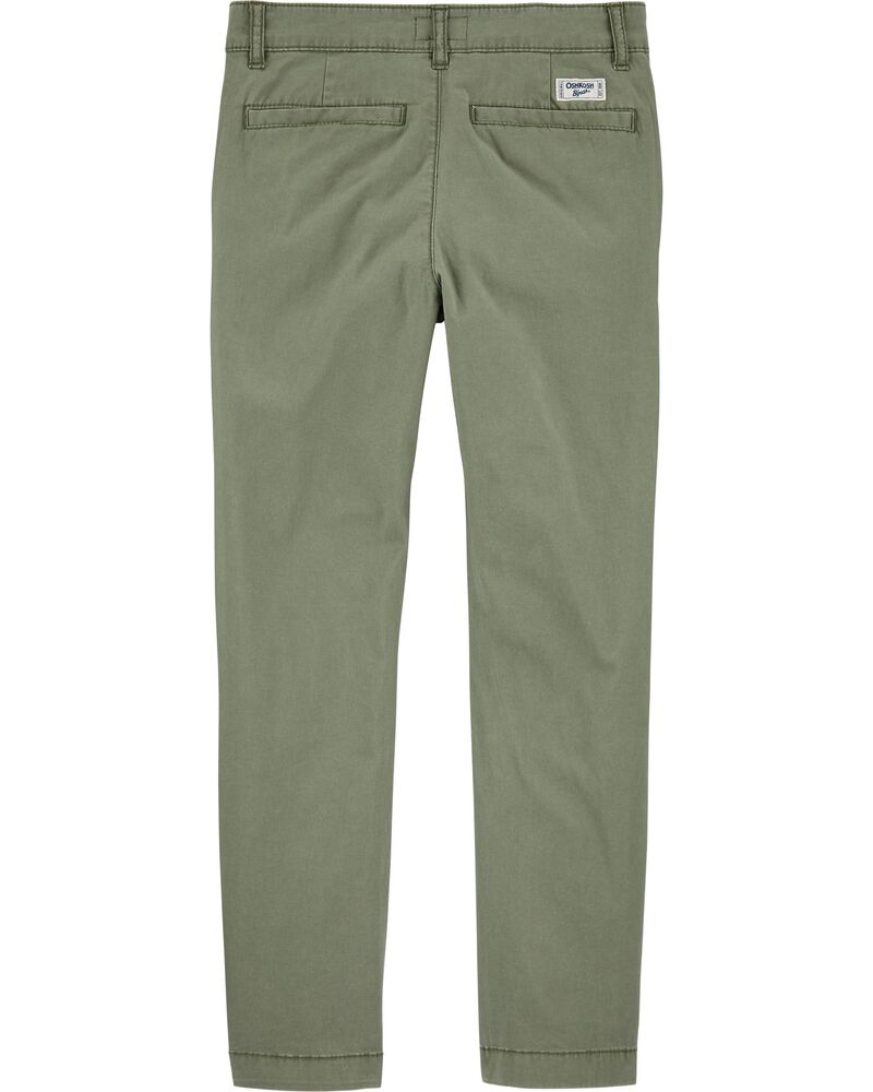 Pantalon en coutil extensible, , hi-res