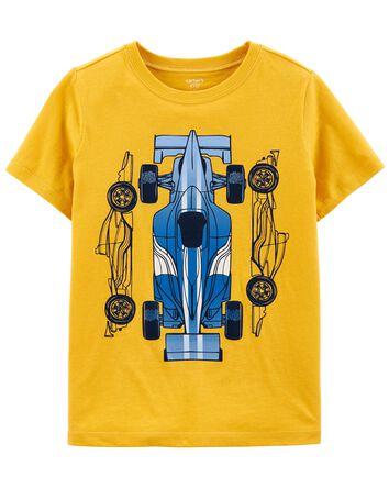 T-shirt en jersey à voiture de cour...