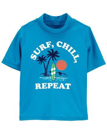 Surf, Chill, Repeat Rashguard