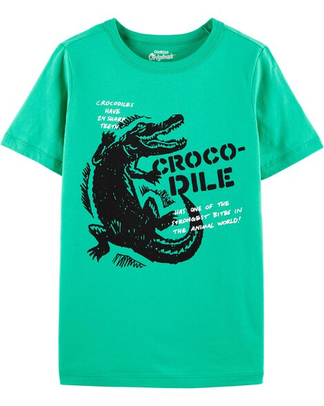 Originals Crocodile Graphic Tee