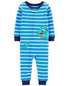 1-Piece Chameleon 100% Snug Fit Cotton Footless PJs, , hi-res