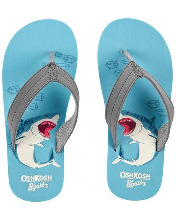 Sandales de plage à motif de requin...