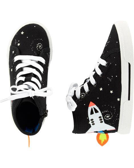 Space High Top Sneakers