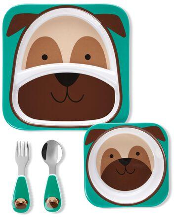 Ensemble-cadeau pour le repas Zoo