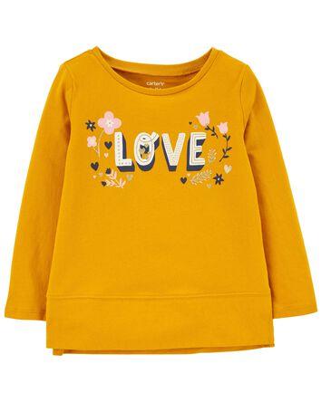 T-shirt en jersey Love