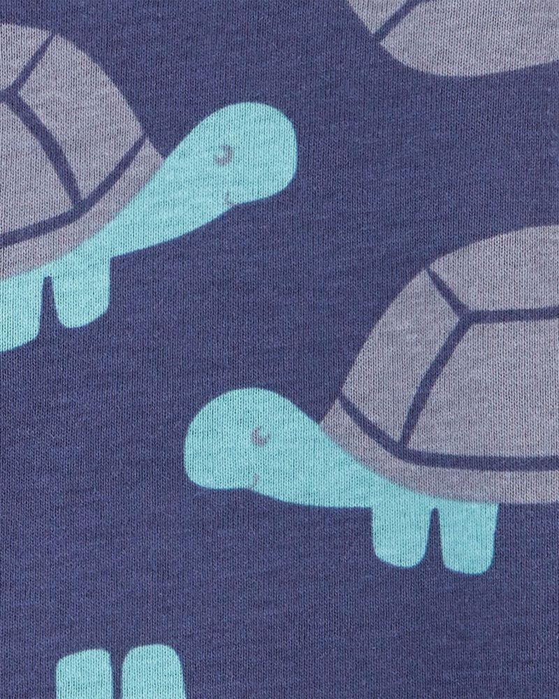 Barboteuse à boutons-pression avec tortue, , hi-res