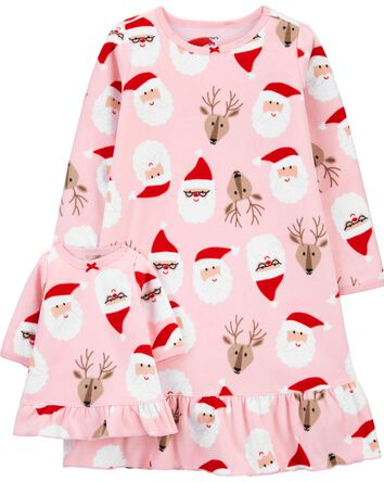 Christmas Matching Nightgown & Doll...