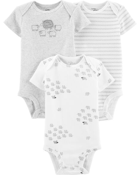 3-Pack Certified Organic Original Bodysuits