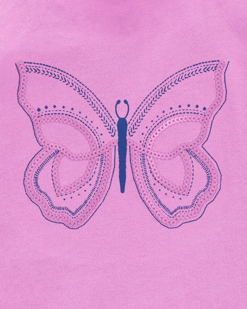 Butterfly Flutter Sleeve Tank, , hi-res