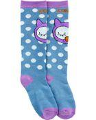 Olivia The Owl Socks, , hi-res