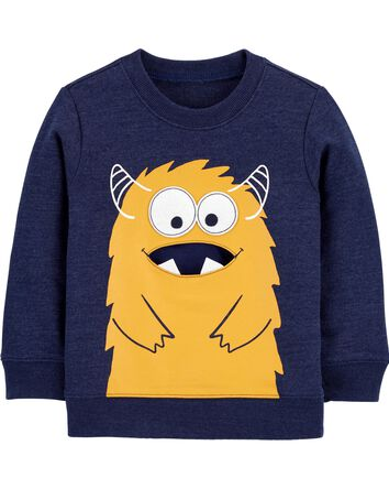 Monster French Terry Pullover