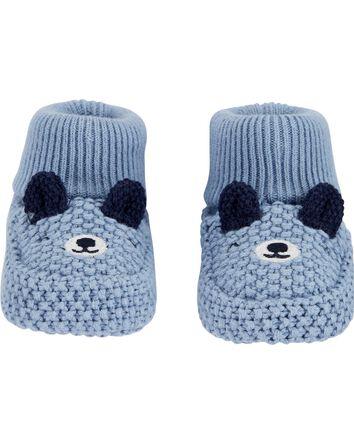 Bear Baby Booties