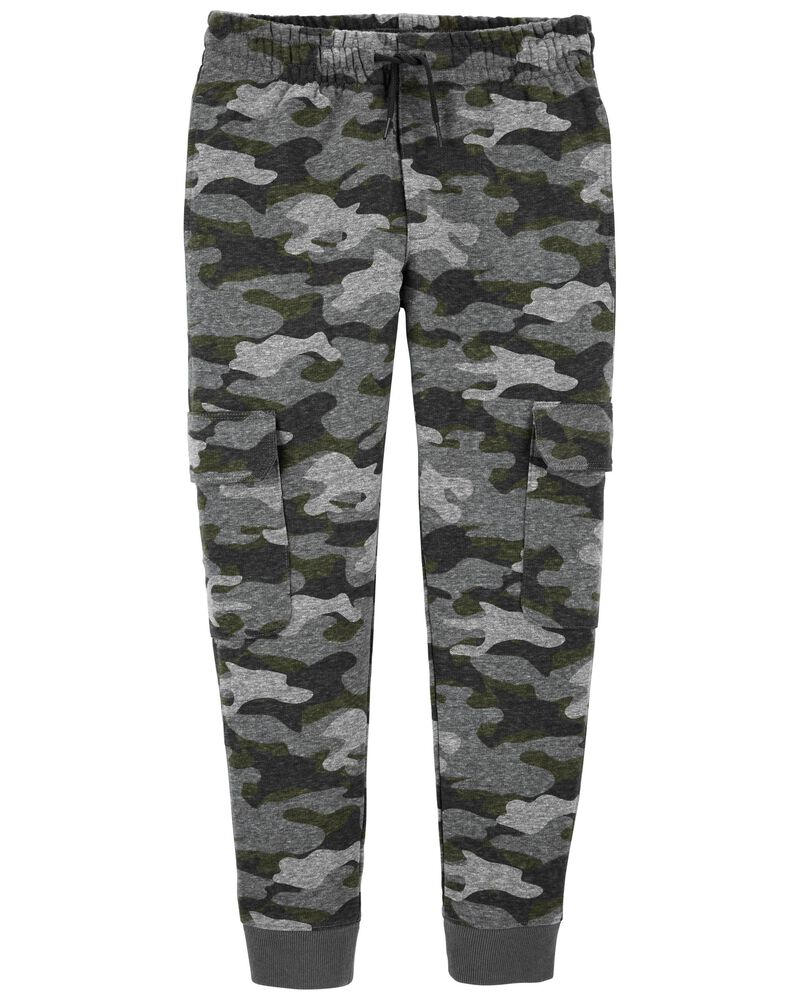 French Terry Cargo Joggers, , hi-res