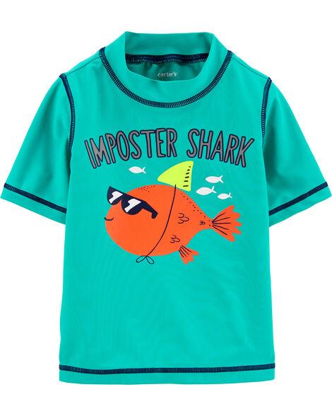 Fish UV Swim Shirt