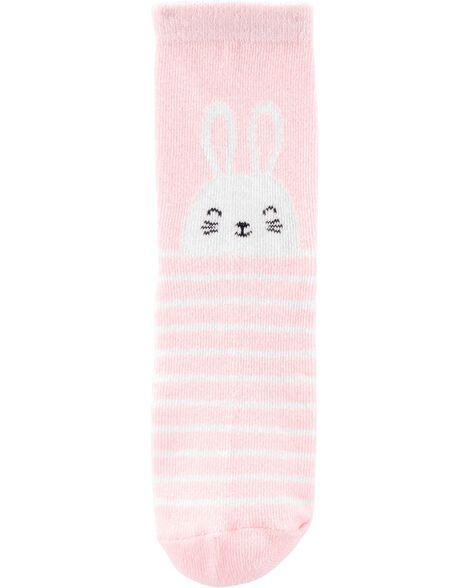 3-Pack Bunny Ankle Socks